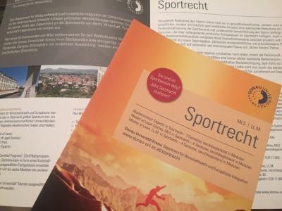 Sportrechts Masterlehrgang Donau-Uni Krems